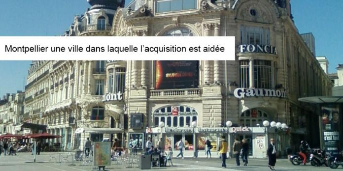 Montpellier une ville dans laquelle l'acquisition est aidée par Paul Henri Pascal Start go